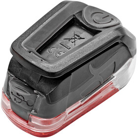 spanninga Pyro Éclairage arrière rechargeable, black